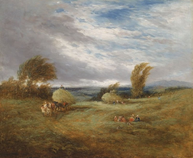 In the Hayfield. David Cox (Inglaterra, 1783-1859)